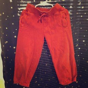 Rust colored Gymboree 5T sweat pants